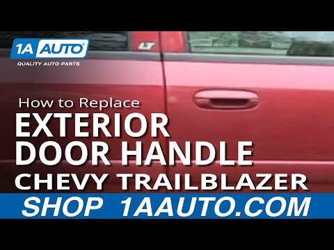 How To Install Replace Broken Outside Door Handle Chevy Trailblazer GMC Envoy 02-09 1AAuto.com