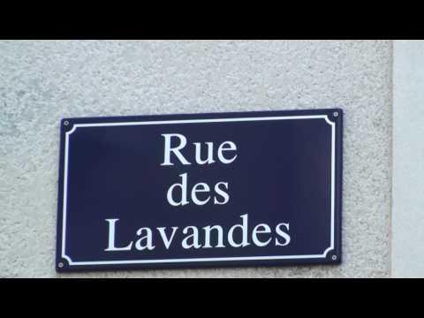 Les bastides d'Uzès - Rue des Lavandes