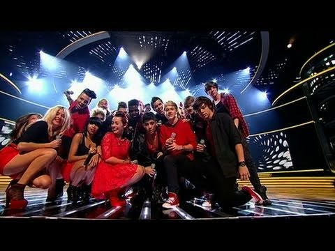 Telephone - The X Factor 2010: The remaining 14 finalists return to the stage to perform Lady Gaga's Telephone, before they're reduced to just 12! Download this performa...