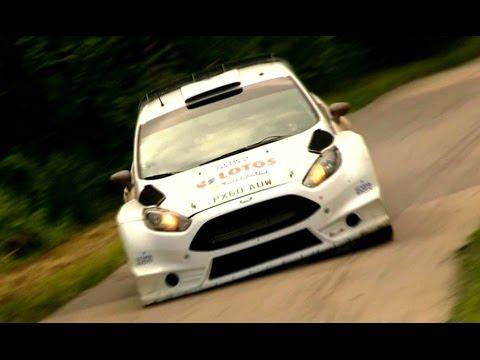 Robert Kubica Test Rallye Deutschland 2014 | Ford Fiesta RS WRC