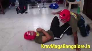 BadAzz Krav Maga Ground Sparring