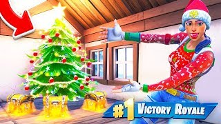 The CHRISTMAS LOOT Challenge In Fortnite Battle Royale!