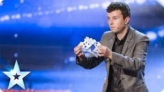 Chris Nicholson Folds On Stage | Britain's Got Talent 2014