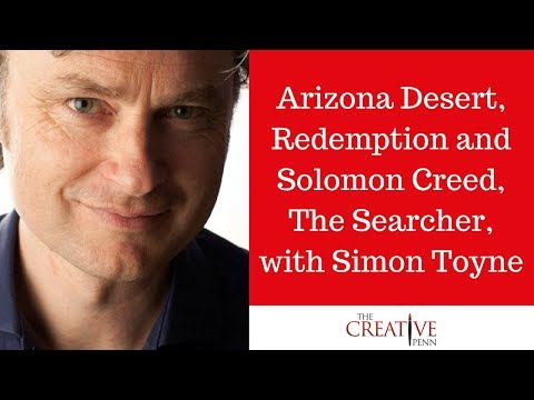 Arizona Desert, Redemption And Solomon Creed, The Searcher, With Simon Toyne