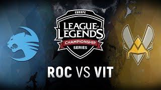 Video ROC vs. VIT  - Week 4 Day 1 | EU LCS Spring Split |  Team Roccat vs. Team Vitality (2018) MP3, 3GP, MP4, WEBM, AVI, FLV Juni 2018