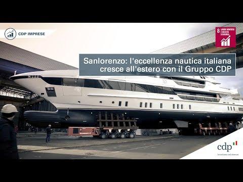 Sanlorenzo cresce sui mercati esteri con il Gruppo CDP