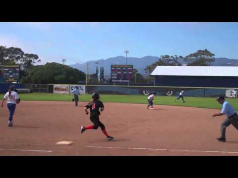 Softball at UCSB (April 21)