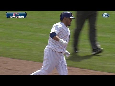 Video: Navarro's two-run homer