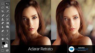 Aclarar Retrato en Photoshop
