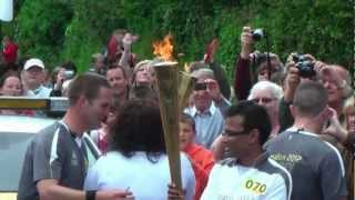 Paignton United Kingdom  City pictures : Olympic Flame handover Paignton, UK.