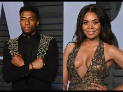 Chadwick Boseman And Regina Hall Dating Rumors Surface