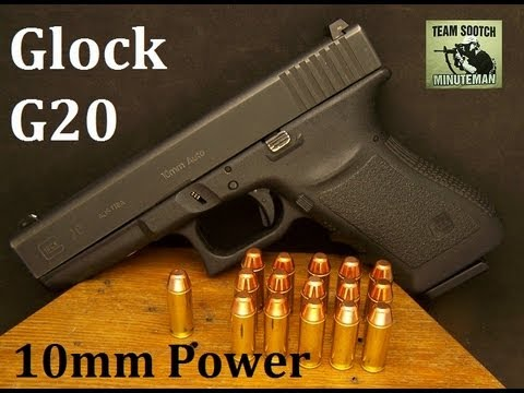 pistol - Fun Gun Reviews Presents: The Glock Model 20 10mm Pistol. For Self Defense, Hunting or just taking a Powerful handgun to the range, the Glock Model 20 is up ...