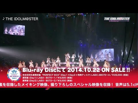 m. - THE IDOLM@STER M@STERS OF IDOL WORLD!!2014】 http://www.lantis.jp/imas/idolworld2014/ 2014年2月22日, 23日にさいたまスーパーアリーナにて開催された、アイマス史上...