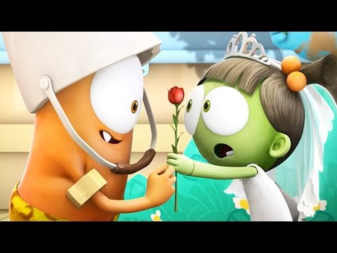 Funny Animated Cartoon | Spookiz School Play Love Story 스푸키즈 | Cartoon for Children