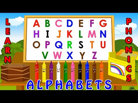 Learning Alphabets For Kids - Phonetics For Kids