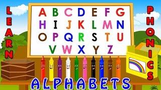 learning alphabets for kids | Phonetics for kids