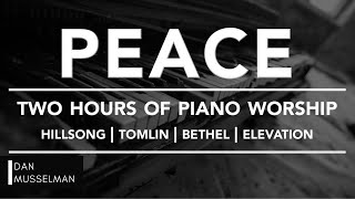 Video PEACE - Two hours of Worship Piano | Hillsong | Tomlin | Bethel | Elevation MP3, 3GP, MP4, WEBM, AVI, FLV Agustus 2019
