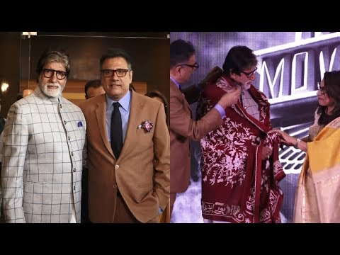 Amitabh Bachchan At Launch Of Boman Irani Production House