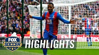 Puncheon's strike gives Palace the lead against Man United | 2015-16 FA Cup Highlights by FOX Soccer