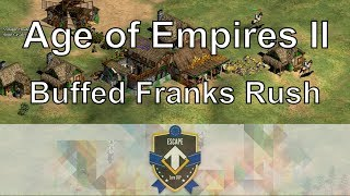 "How good are the new Franks buffs? Resonance22 and ZeroEmpires cast an expert Age of Empires 2 game from the Euro Cup Rise of the Rajas new expansion tournament. In these games we get to watch the Aoe2 pros (DauT and Liereyy) play as the new buffed Franks with their improved Scout Rush. Rise of the Rajas new civilization overviews:https://www.youtube.com/playlist?list=PLOZFzqxtvtxeqZcAKU1HZqafuVctkPLGnRise of the Rajas Expert Gameplay: (contains next game in series!)https://www.youtube.com/playlist?list=PLOZFzqxtvtxexvGoicKtHauNgPWC_o1DQWatch me stream these matches live at: http://www.twitch.tv/resonance22Follow me on Facebook: https://www.facebook.com/Resonance22Follow me on Twitter: https://twitter.com/Resonance22Co-Caster: https://www.youtube.com/user/ZeroEmpiresOther Expert Aoe2 Matches:https://www.youtube.com/watch?v=nPOKFjhh98ghttps://www.youtube.com/watch?v=GZTy88t--J8https://www.youtube.com/watch?v=H1w_xCyQDMIAoe2 ""Break the Meta"", experts doing fun strategies:https://www.youtube.com/playlist?list=PLOZFzqxtvtxcJCwEaszs3BaW2C_enZxe7$120k Aoe2 Tournament Commentaries ""War is Coming"":https://www.youtube.com/playlist?list=PLOZFzqxtvtxdOqIy99o9_b2hhf2ZUPpx-Players: DauT vs LiereyySeries: Euro Cup Qualifiers B Finals, Rise of the Rajas TournamentCivilizations: Franks Mirror MatchMap: Arabia Game Type: 1v1 Random Map, New Rise of the Rajas ExpansionOther Expert Aoe2 matches commentated by me:https://www.youtube.com/playlist?list=PLOZFzqxtvtxcr2dyWiXNwSIOg2ndyGIObNew Rise of the Rajas and African Kingdoms expansion videos:https://www.youtube.com/playlist?list=PLOZFzqxtvtxexvGoicKtHauNgPWC_o1DQDate Recorded: July 16, 2017My Steam Workshop Mods:Terrain Texture Pack: http://steamcommunity.com/sharedfiles/filedetails/?id=140025354Mike's Farm Textures: http://steamcommunity.com/sharedfiles/filedetails/?id=478802899Pussywood for HD: http://steamcommunity.com/sharedfiles/filedetails/?id=549369672Tetsuo's Cliff Textures: http://steamcommunity.com/sharedfiles/filedetails/?id=144402235My Custom AI: http://steamcommunity.com/sharedfiles/filedetails/?id=473358292Thomas has told me that this video was uploaded on a very special viewer's birthday. Happy Birthday BirdyZac from Troy Resonance22! (not the ZeroEmpires Zak, actually a different Zac) Legal: All of the music used in this video is from the official soundtrack to Age of Empires II: HD Edition, and comes packaged with the game. The game is available to be purchased at the following link: http://store.steampowered.com/app/221380/Age of Empires II © Microsoft Corporation. This video was created under Microsoft's ""Game Content Usage Rules"" using assets from Age of Empires II, and it is not endorsed by or affiliated with Microsoft."