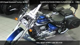 2. 2012 Suzuki Boulevard Touring C50T - for sale in ATLANTIC, IA 50022