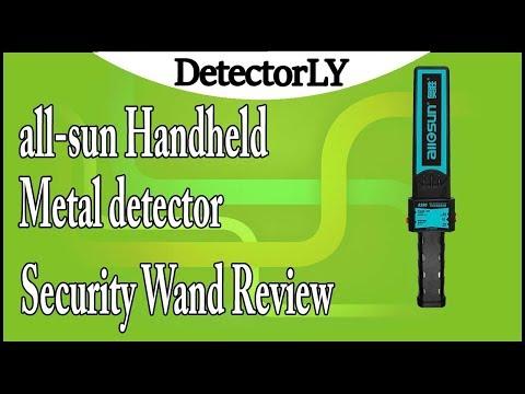 all-sun Handheld Metal detector Security Wand Review