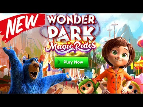 NEW WONDER PARK MAGIC RIDES Gameplay Walkthrough  iOS & Android Ep. 1
