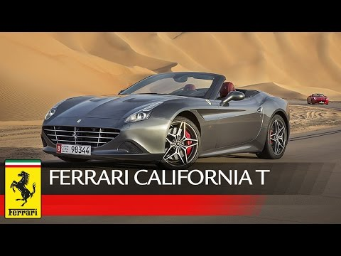Ferraris star in spectacular desert video