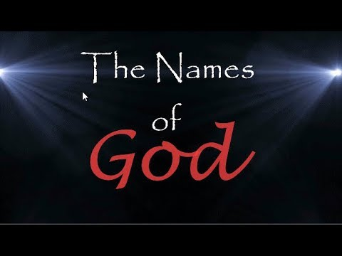 God quotes - The names of God