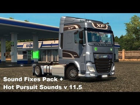 Sound Fixes Pack + Hot Pursuit Sounds v11.6