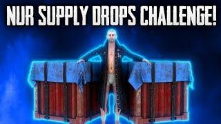 NUR SUPPLY DROPS CHALLENGE? • | PUBG