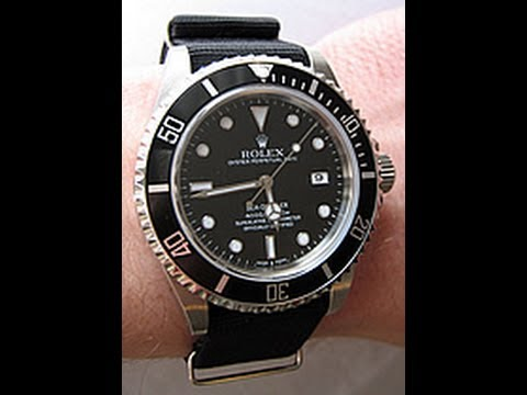 watchreport - Christian Cantrell from www.watchreport.com reviews the Rolex Sea-Dweller. Complete review at: http://www.watchreport.com/2008/05/review-of-the-rolex-sea-dwe...