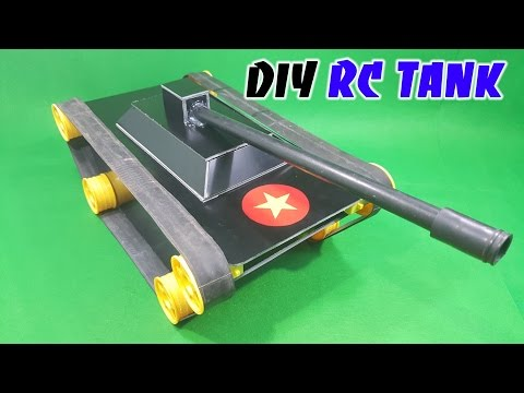 How to make a RC Tank at home