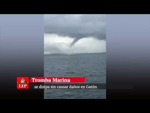 Tromba marina en Gatún se disipa sin causar daños, confirma Sinaproc