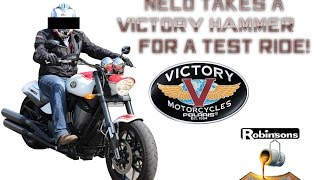 10. 2012 Victory Hammer S - UK Test Ride & Vlog