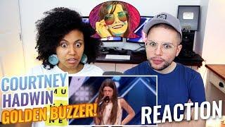 Video Courtney Hadwin: 13-Year-Old Gets Golden Buzzer | America's Got Talent 2018 | REACTION MP3, 3GP, MP4, WEBM, AVI, FLV Juli 2018
