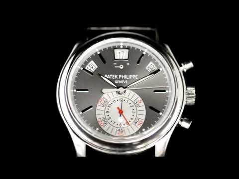 Men's Platinum Patek Philippe Annual Calendar Chronograph, Ref 5960p