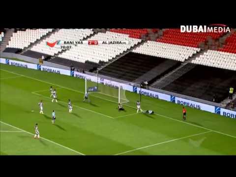أهداف: الجزيرة 2 – 4 بني ياس دوري الخليج العربي – الجولة الثالثة والعشرون– موسم 2014/2015
