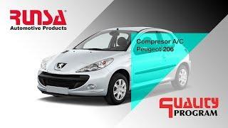 Falla en Compresor de A/C de Peugeot 206