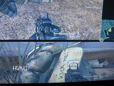 "Modern Warfare 2 ""KICK ME!"" Easter Egg"