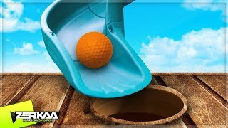 GIANT MINIGOLF SLIDE! (Golf It)