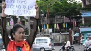 Bà Bùi Thị Minh Hằng bị giam ở trại Thanh Hà