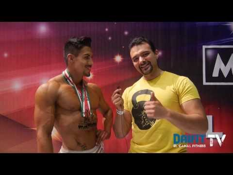 Christopher Lopez gana Sport Model Absoluto en Musclemania Latino 2013