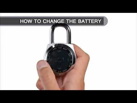 Screen capture of Master Lock 1500eXD dialSpeed™ - Change Battery