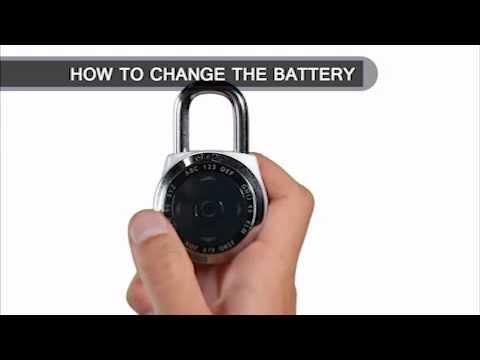 Screen capture of Master Lock 1500eXD dialSpeed™ - Change Battery