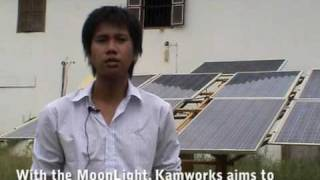 Kamworks Launches The Solar-powered MoonLight In Cambodia.