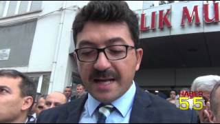 SAĞLIK ÇALIŞANLARINA YÖNELİK TERÖR SALDIRILARI PROTESTO EDİLDİ