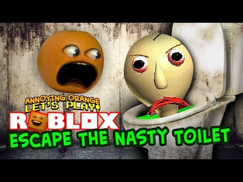 Video Roblox: Escape the NASTY TOILET! [Annoying Orange Plays] download in MP3, 3GP, MP4, WEBM, AVI, FLV January 2017