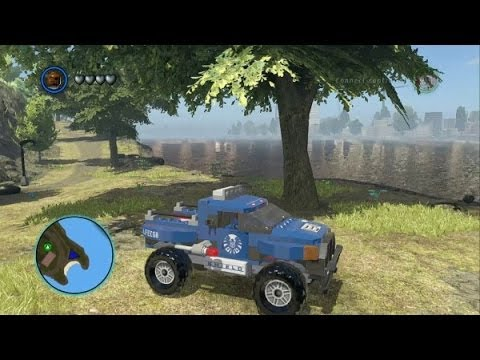 LEGO Marvel Super Heroes -  All 45 Land Vehicles in Action