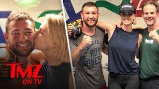 Video Charlize Theron Trades Punches & Kisses With Boxing Champ! | TMZ TV MP3, 3GP, MP4, WEBM, AVI, FLV Juni 2018